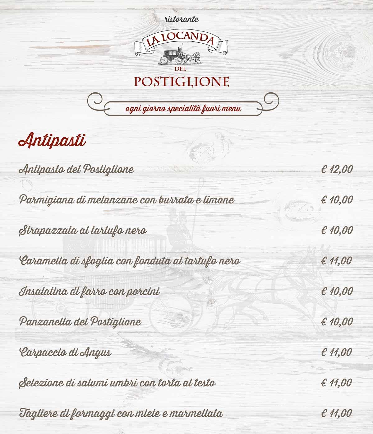 Al Com Mobile >> Cucina Tipica Umbra al Ristorante Postiglione ...