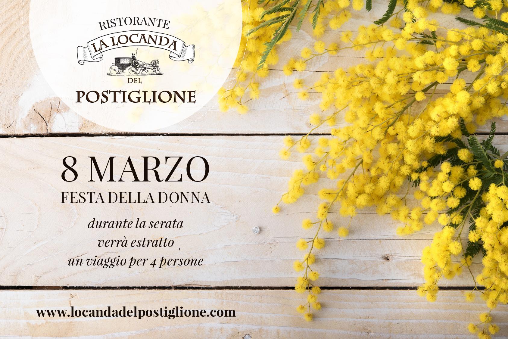 8 Marzo Festa Della Donna Ristorante Locanda Del Postiglione